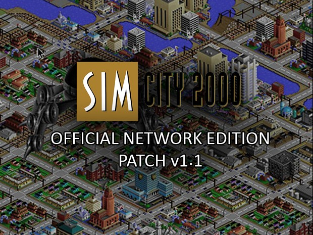 SimCity 2000: Network Edition v1.1 Patch