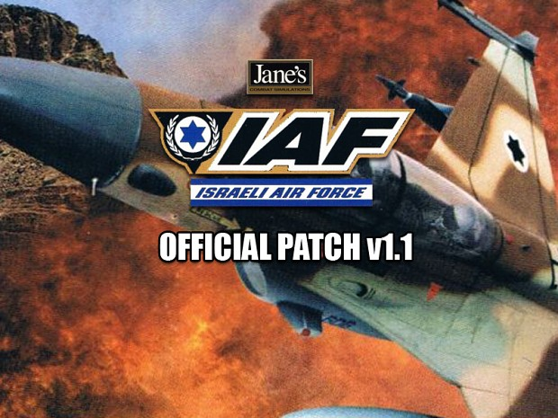Jane's Israeli Air Force v1.1 English Patch
