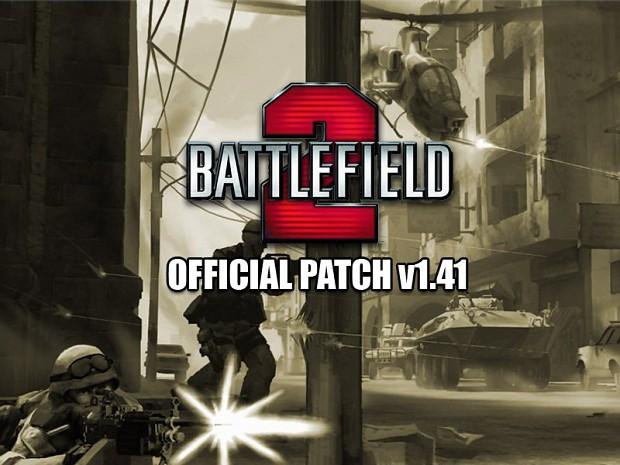 Battlefield 2 v1.41 Patch