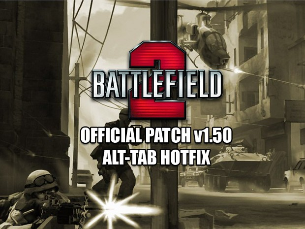 Battlefield 2 v1.50 Alt-Tab fix