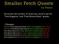 Smaller Fetch Quests [CoC 1.4]
