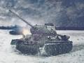 T34/85 Snow Skin