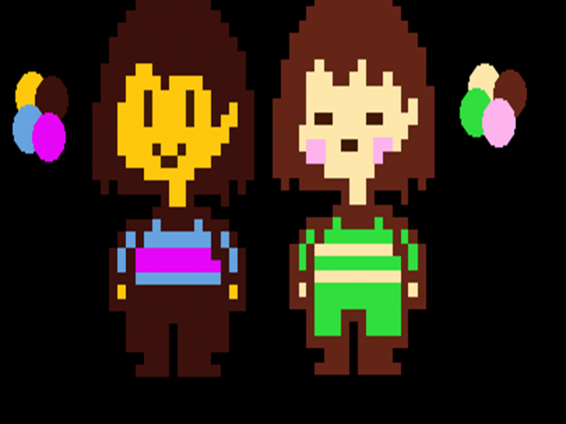 Undertale Frisk And Chara Color Swap 2.0