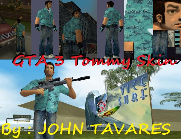 Tommy Vercetti Skin For GTA 3