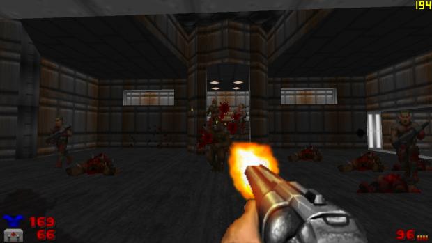 Vanilla Doom 4 Weapons (Dehacked)