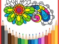 Holi - Coloring Book for Adults