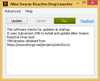 Alien Swarm: Reactive Drop Launcher 1.03