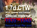 1939-1945 Second Great War 1.7 CTW single file