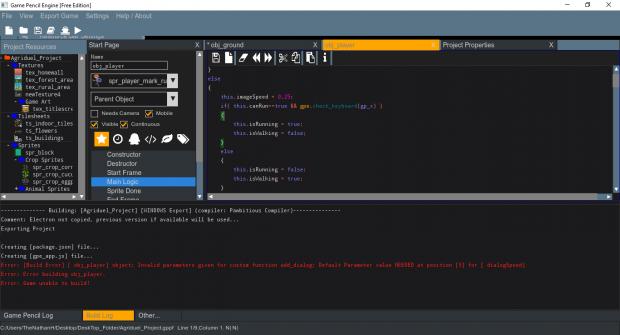 Game Pencil Engine - Windows & Linux Free RC 1.0.3