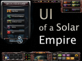 UI of a Solar Empire