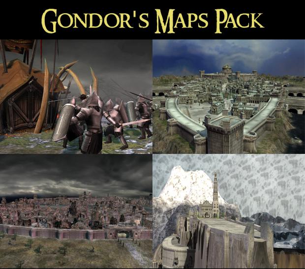 Gondor's Maps Pack v1.0