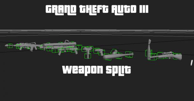 GTA3 Weapon Split