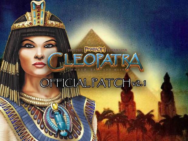Pharaoh - Cleopatra v2.1 German Patch