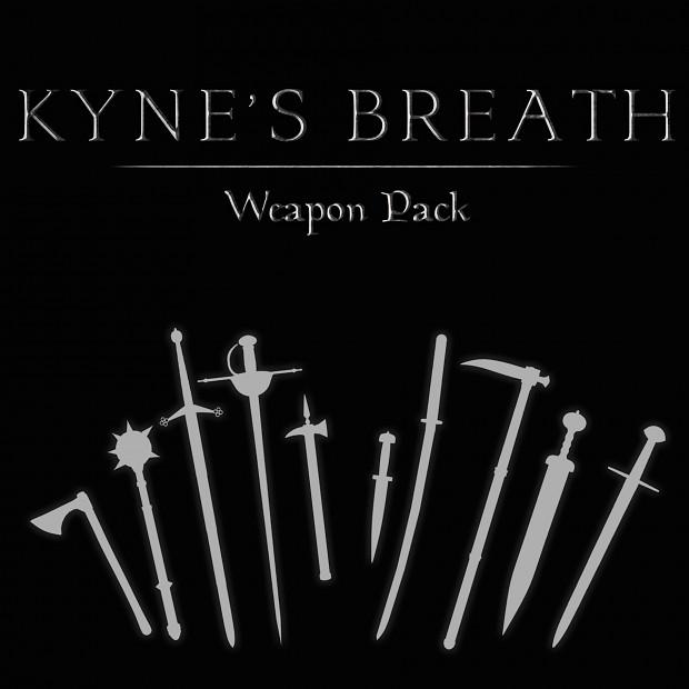 Kyne's Breath - Weapon Pack