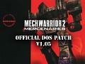 MechWarrior 2: Mercenaries v1.05 DOS Patch