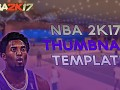 NBA 2K17 thumbnail template