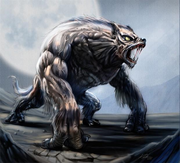 Mutant Wolf Model Pack v1.0