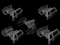 Models Pack: TIE Bombers