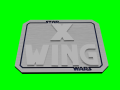 Star Wars: X-Wing Logo 3D Model