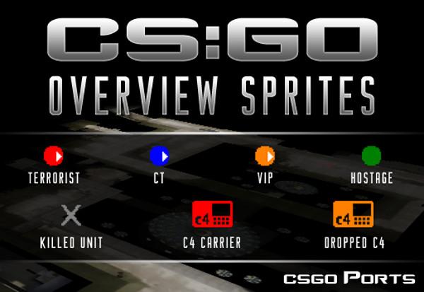CS:GO Overview Sprites
