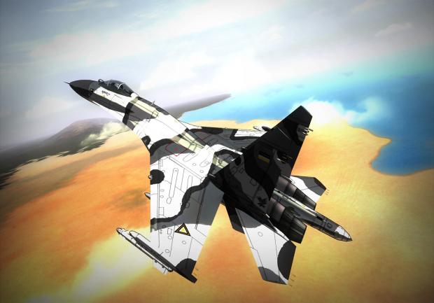 Acrux's Su-27SKM Flanker-B (V2)