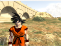 Ingured Goku