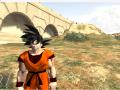 Ingured Goku