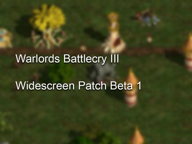 WBC III Widescreen Beta 1   Dec 10 2016 (OLD)