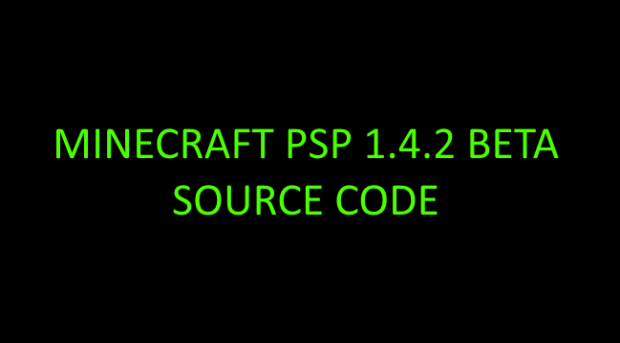 Minecraft psp source code 1 4 2