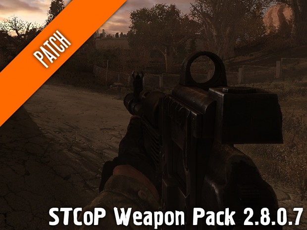 STCoP Weapon Pack 2.8.0.7 (v.5 to v.5.1) (Patch)