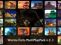 Worms Forts: Multiplayer Map Pack V2.3