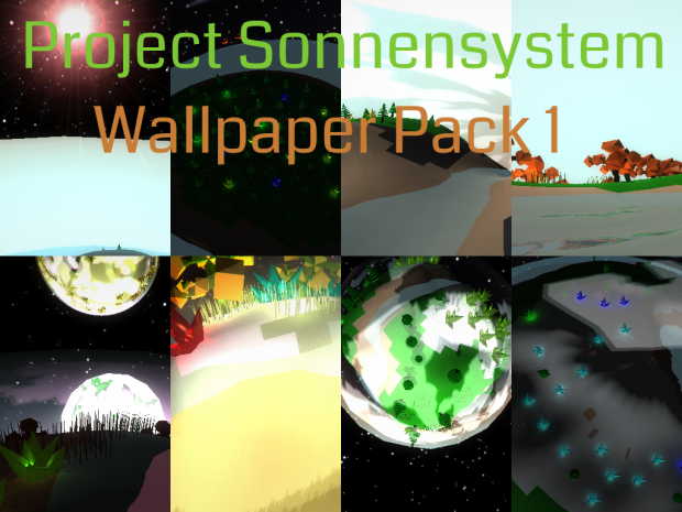 Sonnensystem Wallpapers (Batch 1)