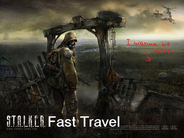 Call of Chernobyl Fast Travel [1.4.22/1.5]