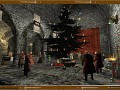 Here is Christmas scene