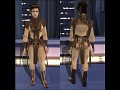 Light & Dark Side Robes for Bastila