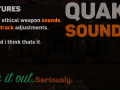 Quake-ish Weapon Sounds