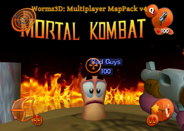 Worms 3D: Multiplayer Map Pack V4.0