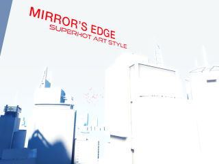 Mirror's Edge meets SuperHot | Art Style