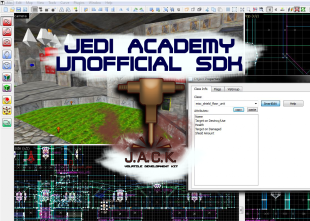 Star Wars JK:JA SDK for JACK editor
