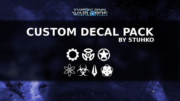 Custom Decal Pack