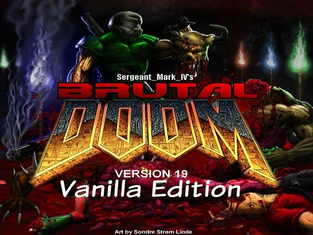 Brutal Doom v19: Vanilla Edition