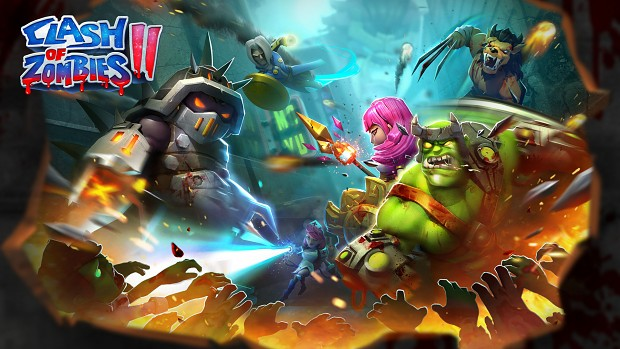 Clash of Zombies 2