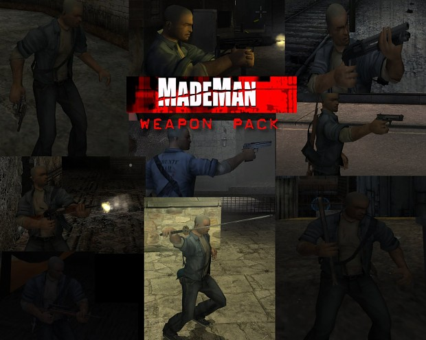 Made Man Weapon Pack (Manhunt Edition)