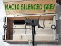 Mac10 silenced grey