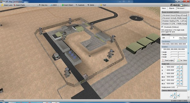 San Andreas Multiplayer Map Editor