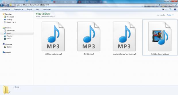 Portal Vocaloid Edition OST