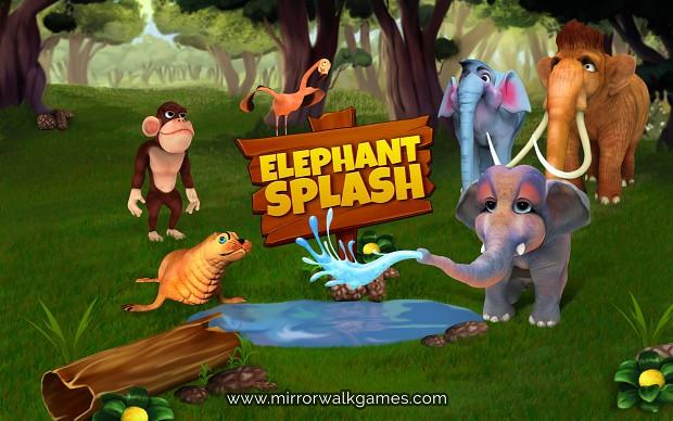 elephant splash game teaser