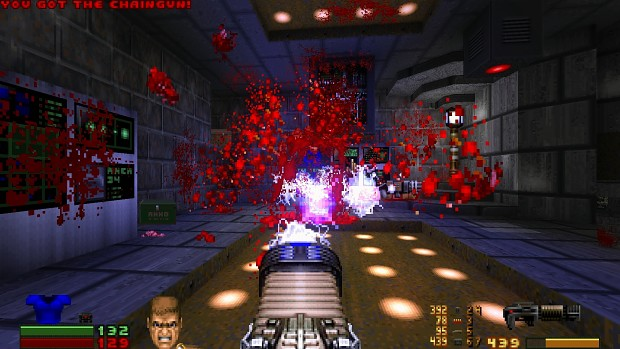Smooth Doom with Ketchup Patch