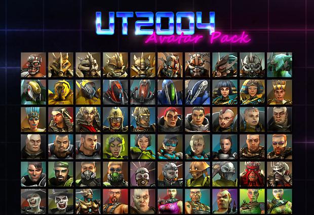 UT2004 Avatar Pack