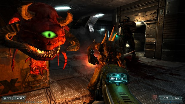 classic doom mod 1.2 for Hi Def